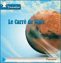 Divination Carre de mars